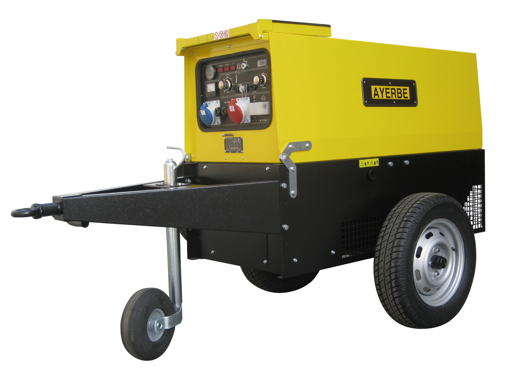Welding Diesel Generators Ayerbe Industrial de Motores Ayerbe