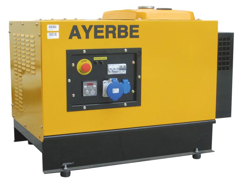 Generador gasolina 3000 rpm ayerbe 6000 avr h ins e - Generador de gasolina ...