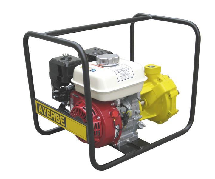 Motobomba gasolina 3000 rpm ayerbe h 130 ap ayerbe for Motobombas de gasolina